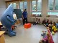 Aqualino zu Besuch in Klasse 1