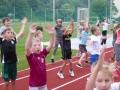 Erwärmung Sport- und Spielfest